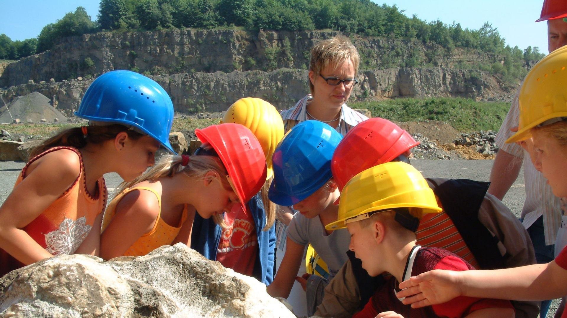 Kindergruppe, Foto: Touristikzentrum Westliches Weserbergland